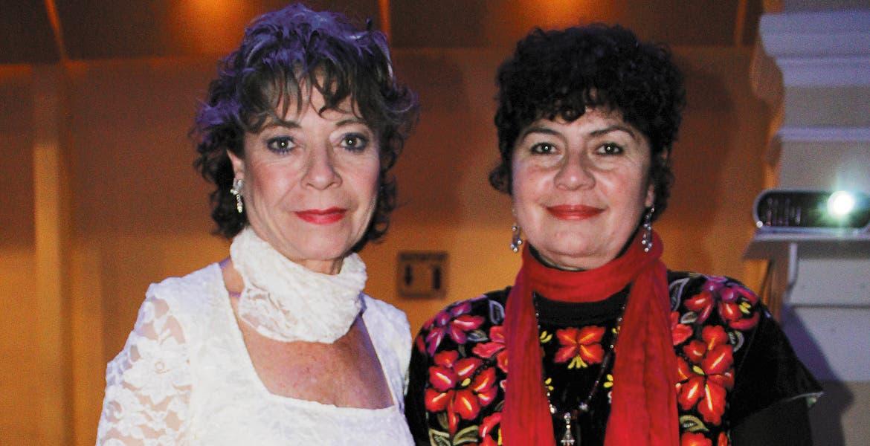 Laura España y Gilda Cruz.