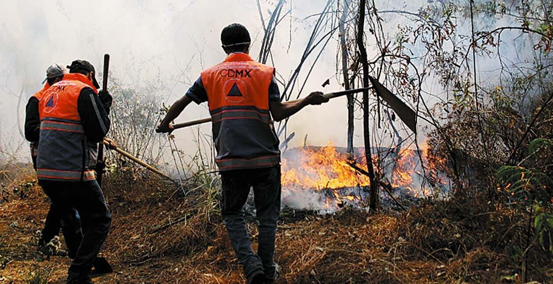 Labores. Personal de Protección Civil de Cuernavaca está al pendiente ante cualquier incendio forestal.