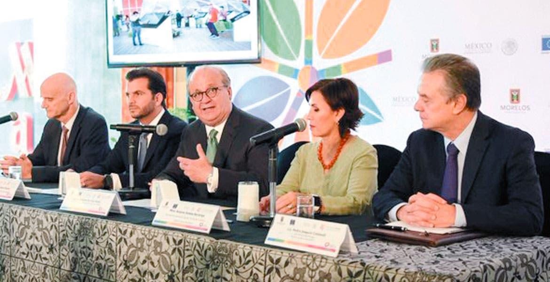 Negocios sustentables. El embajador de la Unión Europea en México, Andrew Standley, dijo que hay 12 empresas interesadas en promover negocios verdes con México.
