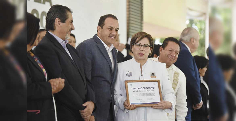 Reconocen a enfermeras y enfermeros de Morelos