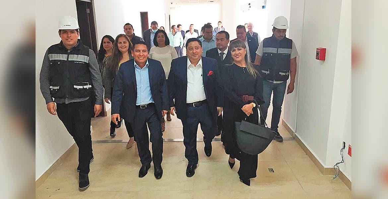 Recorren autoridades de FGE próxima sede en Temixco