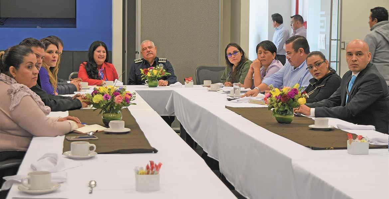 Refrendan apoyo a corporaciones de seguridad de Morelos