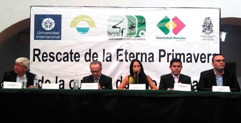 Propuestas. Organizaciones civiles presentaron su proyecto de acciones sustentables a favor del río Apatlaco.