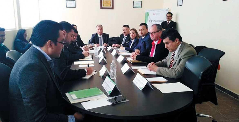 Reunión. En la Sexta Sesión Ordinaria realizada en Hidalgo, los titulares de las UECS acordaron fortalecer tecnología.