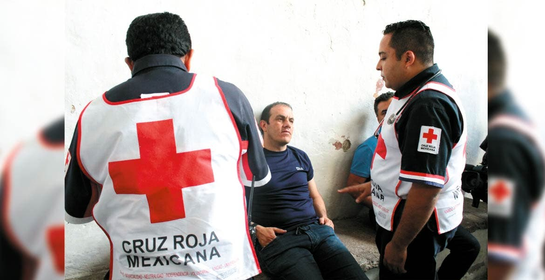 Atención. Blanco Bravo tuvo atención paramédica a nueve horas de haber iniciado la huelga de hambre.