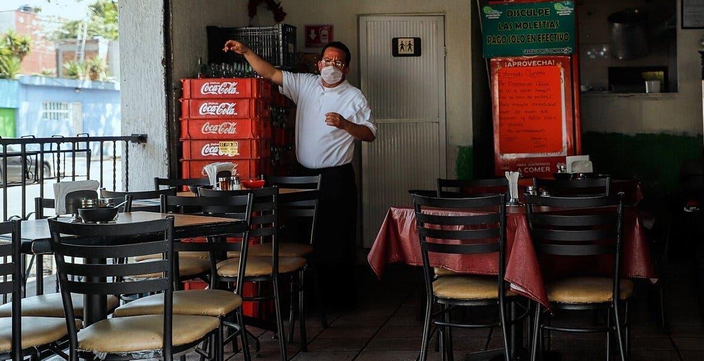 Nuevos casos de COVID pueden cerrar 122 mil restaurantes