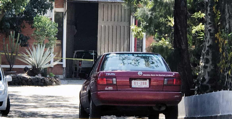 Recuento. Agentes ministeriales recuperaron armas y drogas que fueron robadas por cuatro sujetos el 14 de noviembre de la bodega de Bienes Asegurados, en Jiutepec.