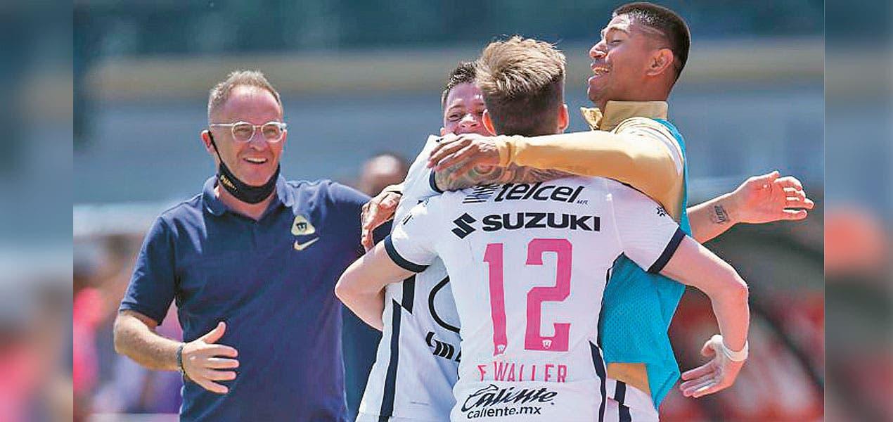 Ruge la cantera - Primer triunfo del subcampeón en CU