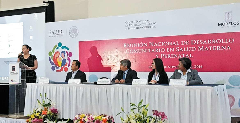 Reunión. Autoridades especializadas en salud reproductiva se dieron cita en el municipio de Xochitepec.