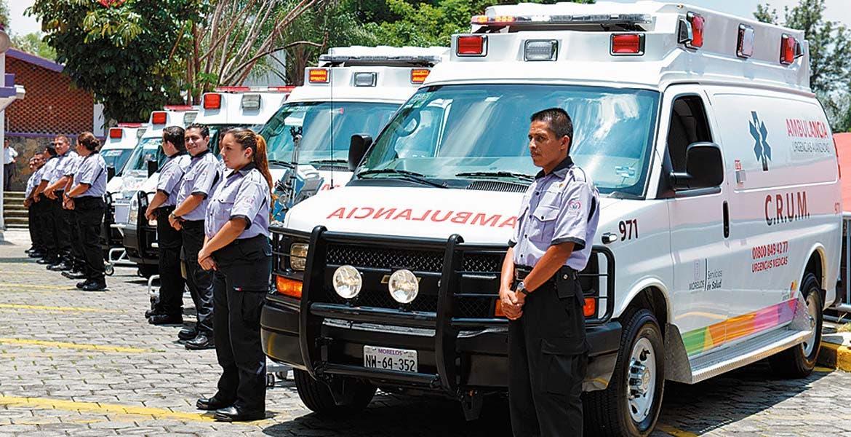 Listos. Personal de urgencias atenderá cualquer eventualidad.