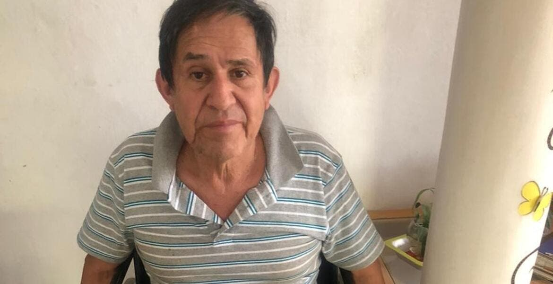 Don José Ramón, de Jiutepec, necesita una prótesis para caminar y seguir trabajando