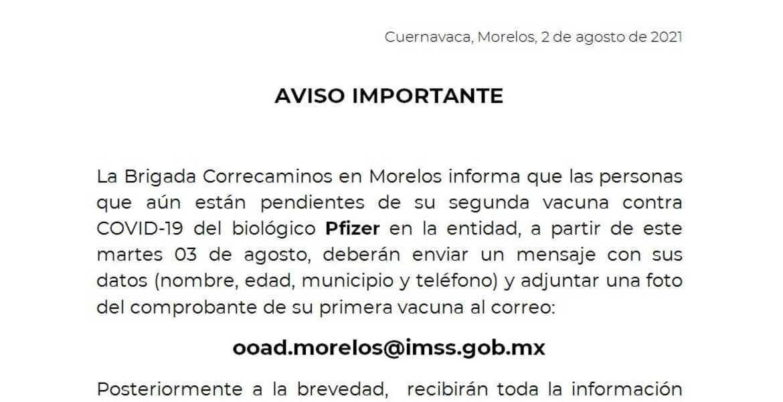 ¿Cuánto te aplicarán en Morelos la segun...