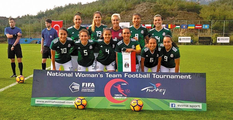 Tri femenil, subcampeón de la Copa Turquía 2018