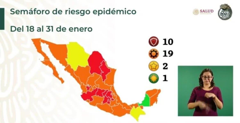 Morelos, otras dos semanas más en semáfo...