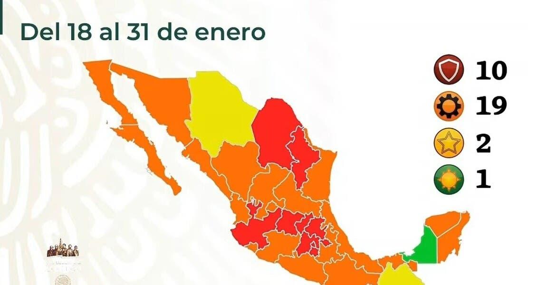 Seguirá Morelos en semáforo rojo, a part...