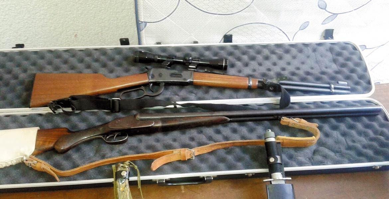 A prisión. Jonathan Garza Ramos sustrajo unos rifles de un domicilio ubicado en la colonia Chamilpa.