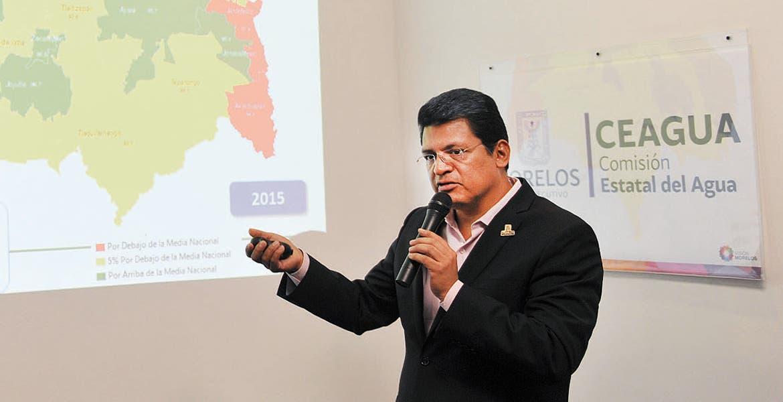 Conciencia. Juan Carlos Valencia Vargas, titular de Ceagua, pidió a los ciudadanos cuidar el vital líquido.