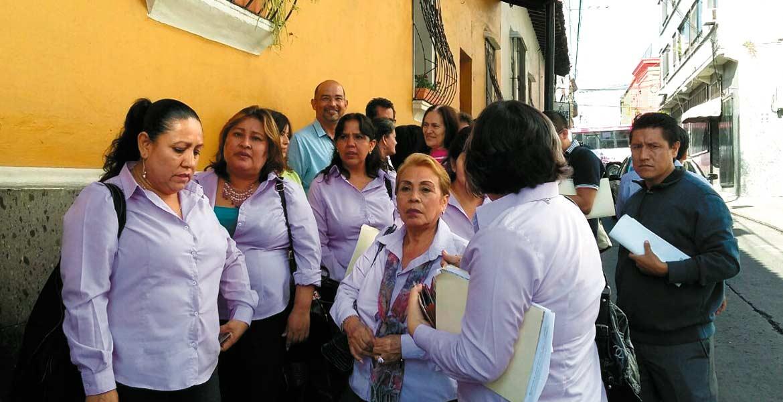 LA DENUNCIA - Daniel Hernán López Rodríguez denunció a 11 miembros del SUTPEEPEM por el delito de despojo de las instalaciones de dicha agrupación.