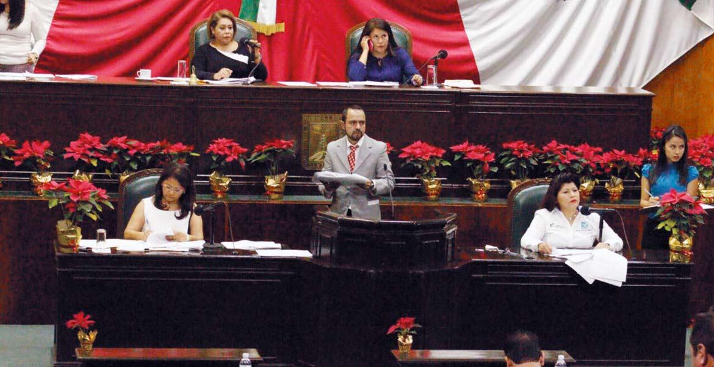 Discusión . La agresión cometida contra la senadora Ana Gabriela Guevara provocó pronunciamientos de diputados de PRI, PAN y PRD.