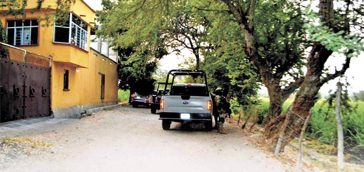 Catean rancho ligado al narco en Morelos