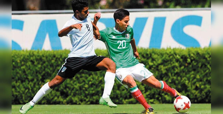 Selección Sub-17 vence a India por el Torneo 4 Naciones