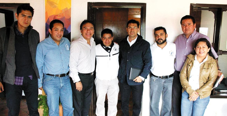 Reunión. Jorge Arturo Olivares Brito sostuvo una reunión de logística con los cuatro visitadores adjuntos a la 3ra visitaduría de la CNDH.
