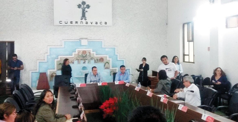 Incumplen. Por cuarta ocasión consecutiva se suspendió el cabildo del ayuntamiento de Cuernavaca, debido a que no se presentaron nueve regidores.