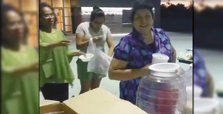 Diversión. Migrantes morelenses disfrutaron de la kermés organizada en beneficio del telebachillerato de Ixtlilco El Grande, del municipio de Tepalcingo.