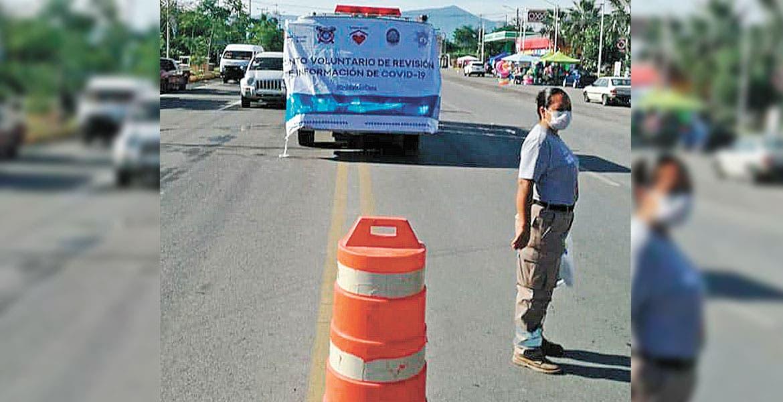 Implementan filtros sanitarios para turistas en Teques
