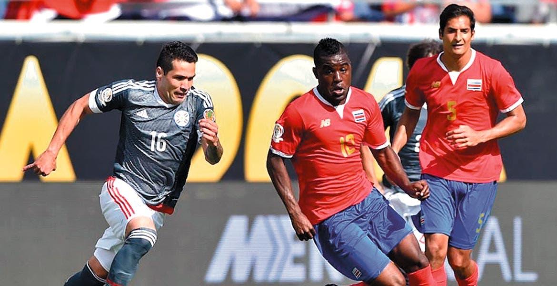 Nada. Sin emociones en el encuentro entre Costa Rica y Paraguay.
