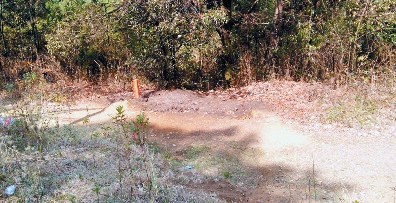 Hallazgo. Protección Civil aseguró una toma clandestina en el poblado de Montecristo