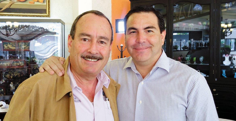 Encuentro. Jorge Messeguer Guillén, titular de Movilidad, y el delegado del IMSS, Manuel Abe Almada, aseguraron que el esquema será inédito en la entidad.