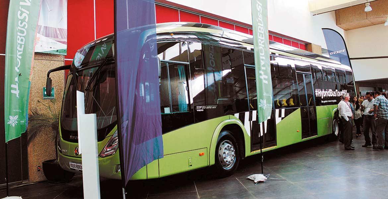 En marcha. El secretario de Movilidad y Transporte, Jorge Messeguer, informó que la creación de infraestructura del Morebús requerirá unos 700 millones de pesos.