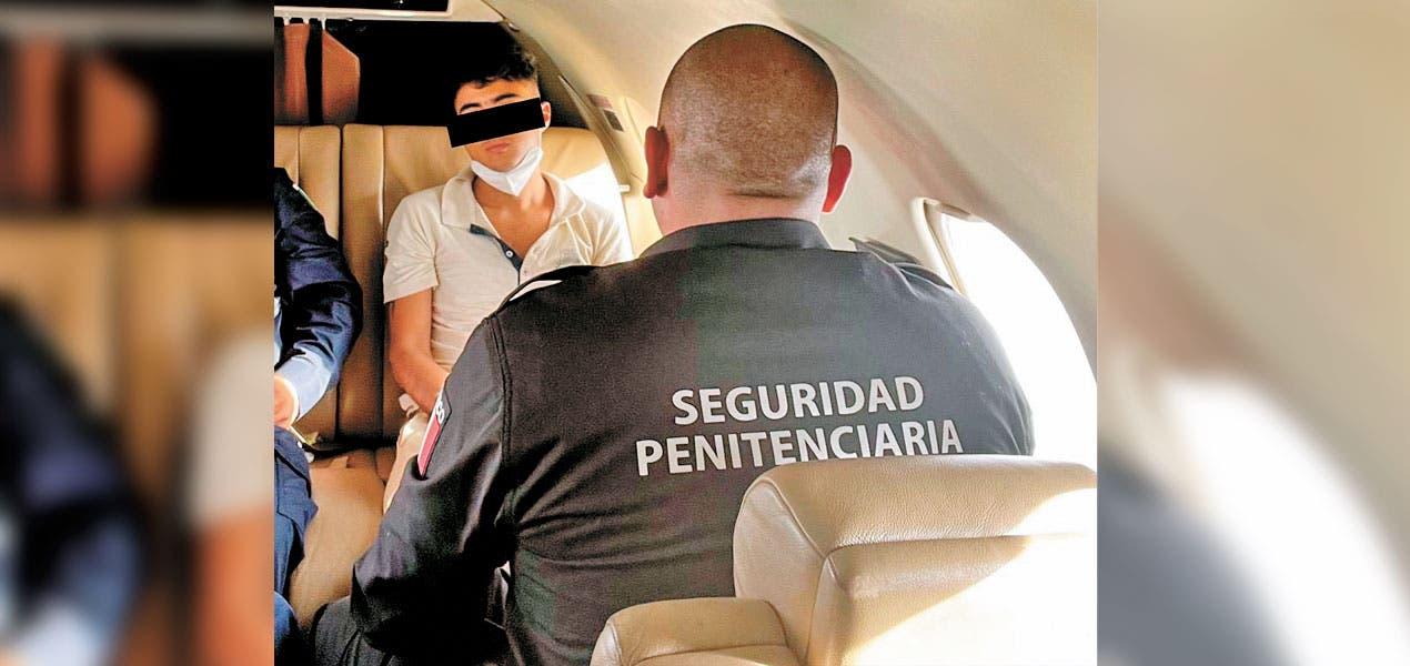 Trasladan a hijo de 'El Carrete' a prisión federal
