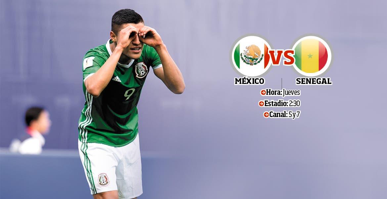 Cómo y dónde ver el México vs Senegal; horarios y TV online