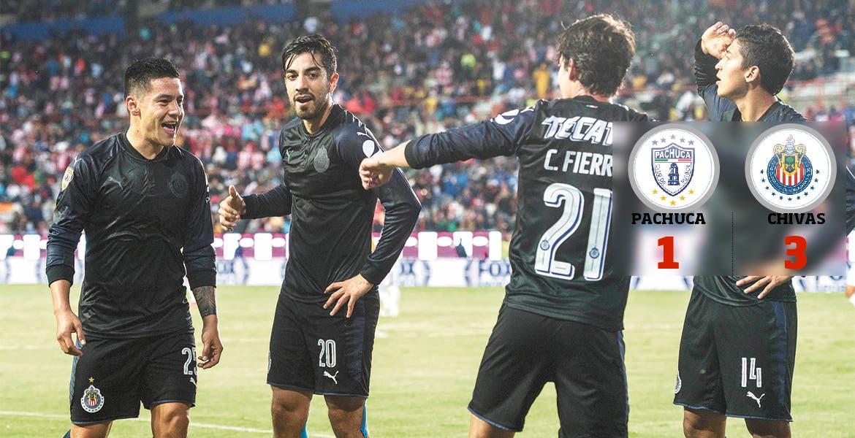Chivas ansía su primer triunfo en el torneo de visita a Pachuca