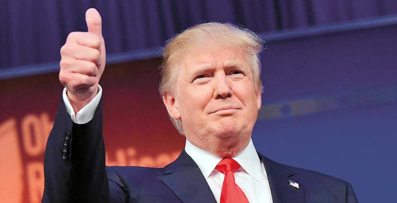 Apabullante. Un triunfo contundente obtuvo Trump en las elecciones del martes.