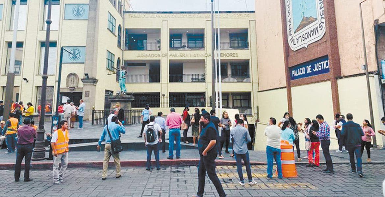 Piden a Poder Judicial de Morelos sobreseer amparos de cuatro magistrados