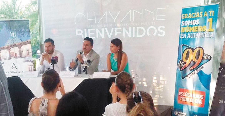 Reporte. El director de Jardines de México destacó la derrama económica que se tendrá con el concierto.