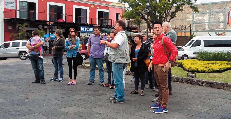 Visitantes. Benefician a Morelos los periodos de asueto y vacaciones por su clima y gastronomía.
