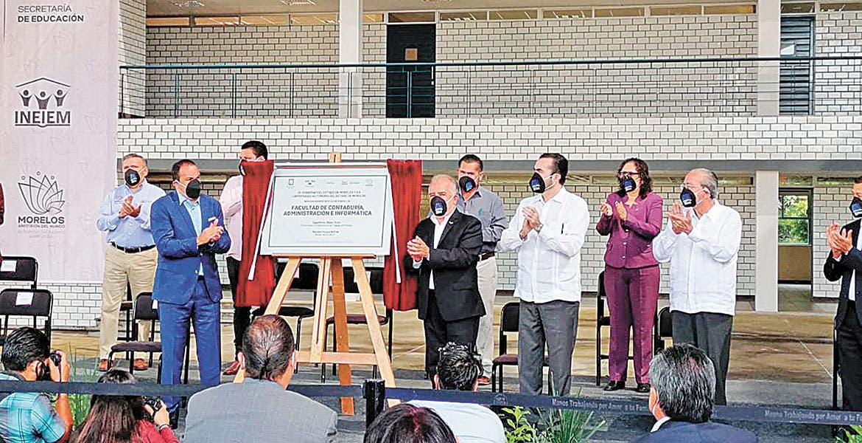 Entrega Gobernador de Morelos otro edificio a la UAEM
