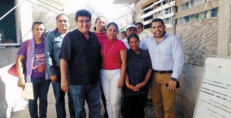 Compromiso. El alcalde Manuel Agüero dijo que seguirán los apoyos.