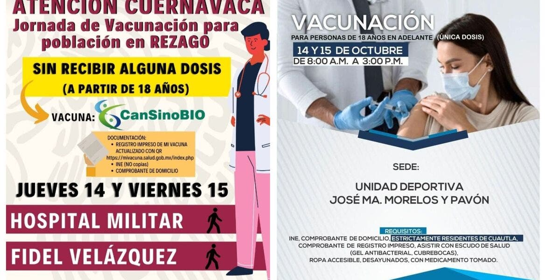 Confirman vacuna de Cansino para rezagad...