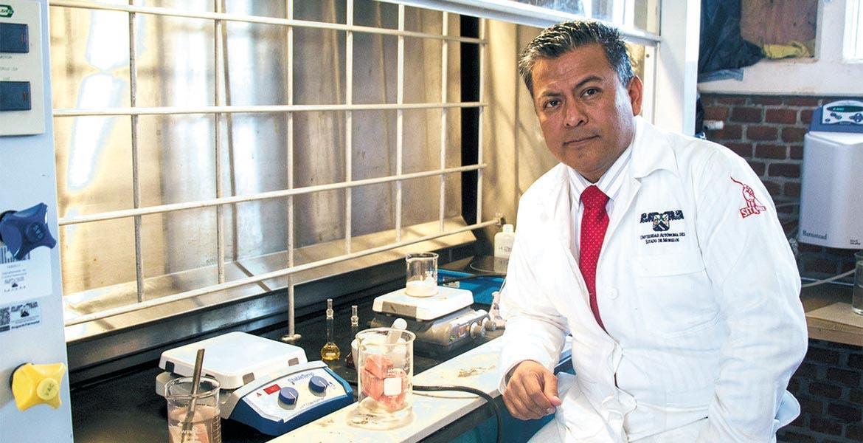 Objetivo. Said Robles Casolco informó que buscan patentar esta investigación y lograr que esta tecnología sea reconocida como de clase mundial.