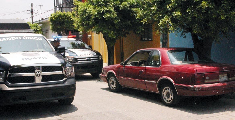 El vehículo. Un Cutlass usado en el robo de $250 mil a un hombre, fue asegurado por policías estatales, en la colonia Flores Magón.