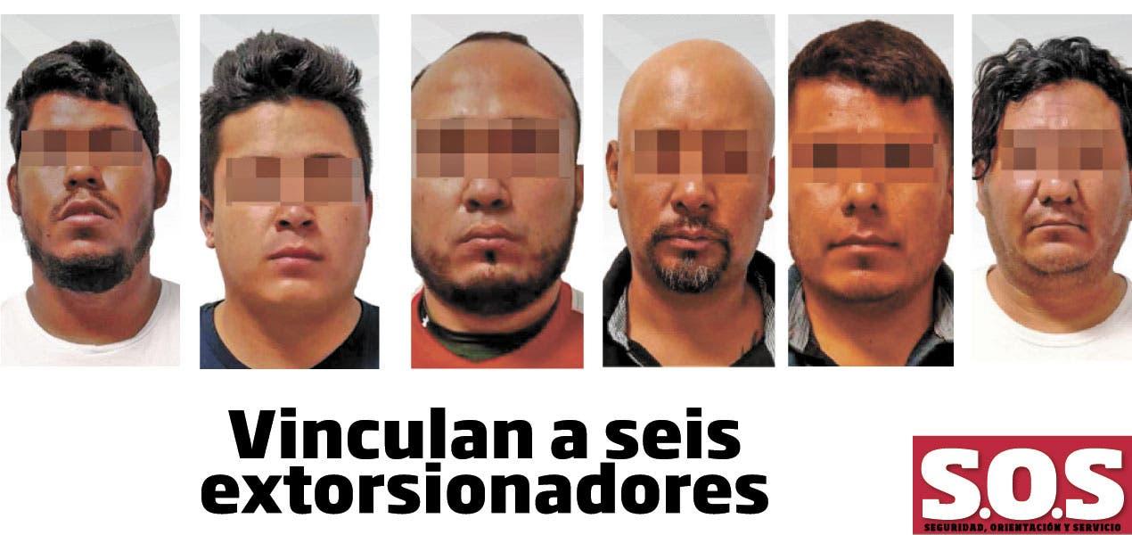 Vinculan a seis extorsionadores en Cuautla