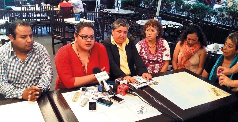 Señalamiento. En rueda de prensa realizada en Cuernavaca, Susana Fuentes acusó al alcalde Jorge Miranda de amenazarla y obstruir el ejercicio de su función.