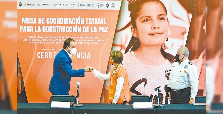 Tiene Morelos estrategia para combatir violencia
