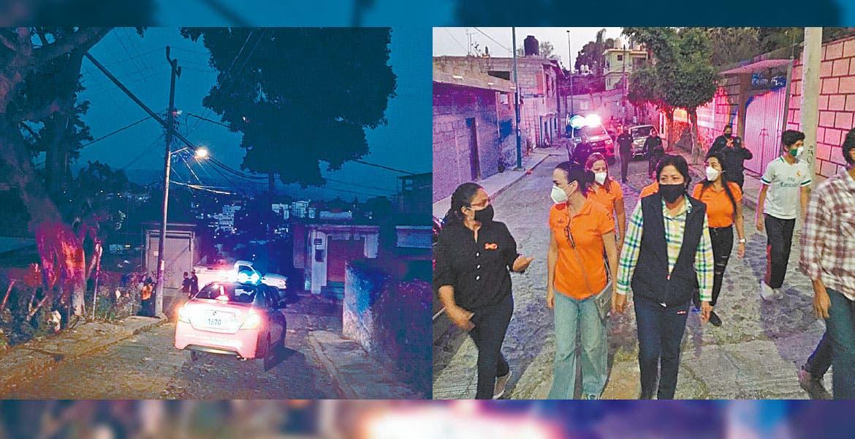 Recorren sitios de riesgo para mujeres en la Lagunilla, Cuernavaca