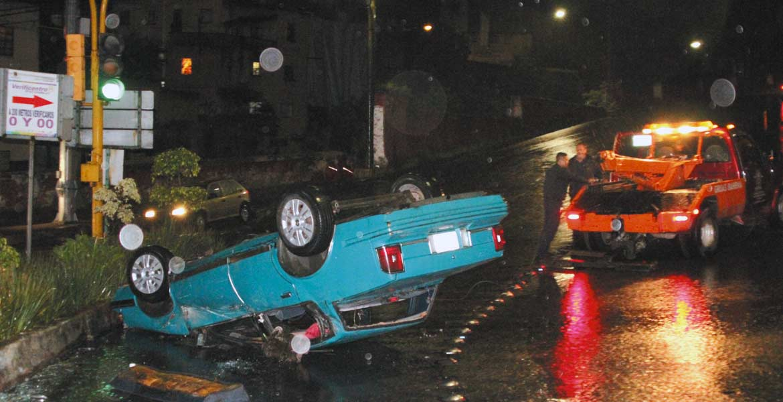 Encontronazo. De acuerdo con Tránsito, en Cuernavaca se registraron 178 accidentes durante el período vacacional, 13 por consumo de alcohol.